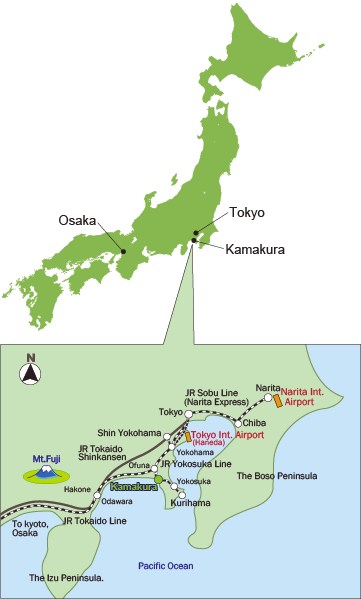 Th JAPANASEAN Conference On Mens Health Aging Access - Japan map kamakura